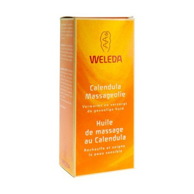 WELEDA MASSAGE OLIE CALENDULA FL 100ML