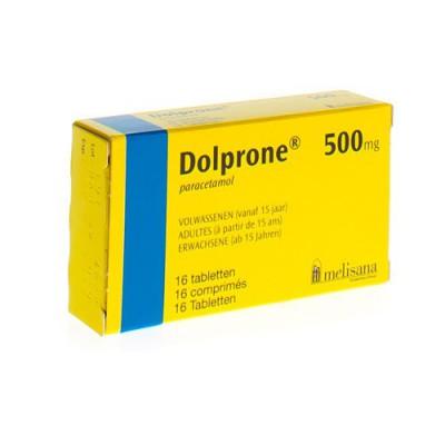 DOLPRONE COMP 16 X 500 MG AD
