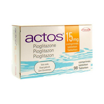 ACTOS 15 MG COMP 98 X 15 MG