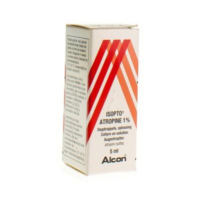 ISOPTO ATROPINE 1,0% COLLYRE 5 ML
