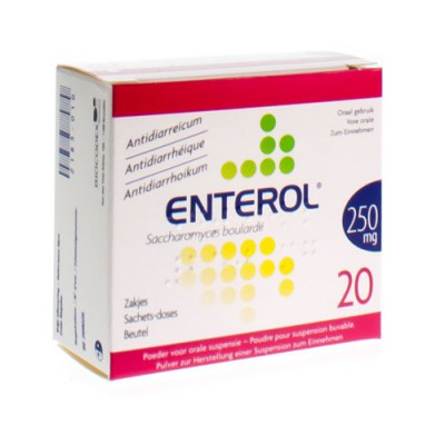 ENTEROL 250 MG PULV SACH 20