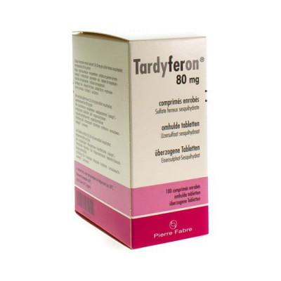 TARDYFERON 80 MG FILMOMH TABL 100
