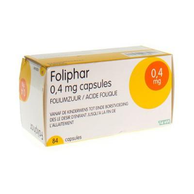 FOLIPHAR CAPS 84