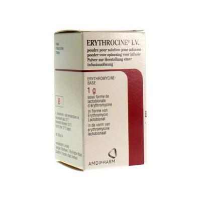 ERYTHROCINE FL INJ IV 1 X 1 G