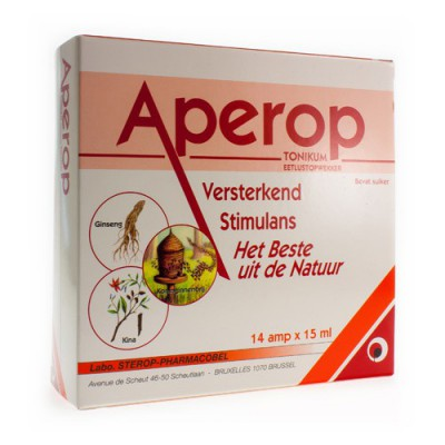 APEROP TONIKUM DRINKBARE AMP 14X15ML
