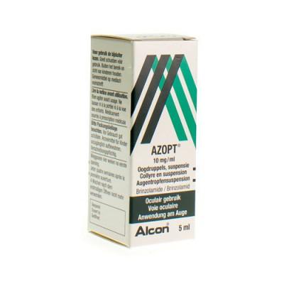 AZOPT COLLYRE 1,0% 5ML