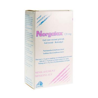 NORGALAX BOITE/DOOS 6 X 10 GR