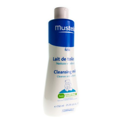 MUSTELA BB TOILETMELK FL 750ML