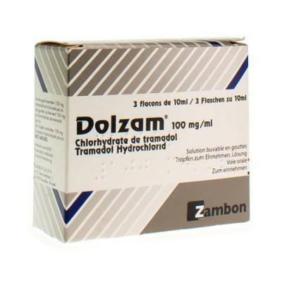 DOLZAM GUTT 3 X 10ML 100MG/ML