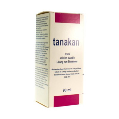 TANAKAN DRINKBARE OPL - SOL BUVABLE FL 90 ML