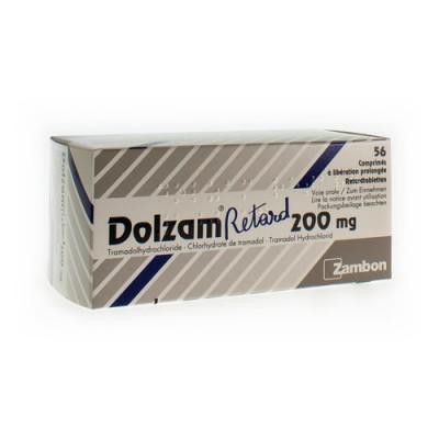 DOLZAM RETARD 200 TABL 56 X 200 MG