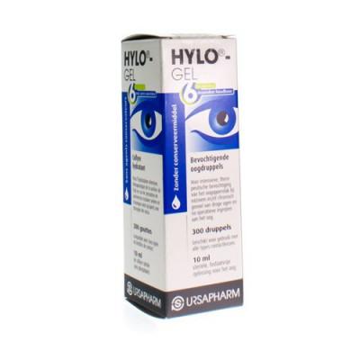 HYLO-GEL OOGDRUPPELS 10ML