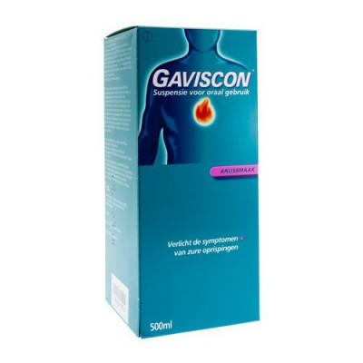 GAVISCON ANIJS - ANIS SUSP BUV 500ML