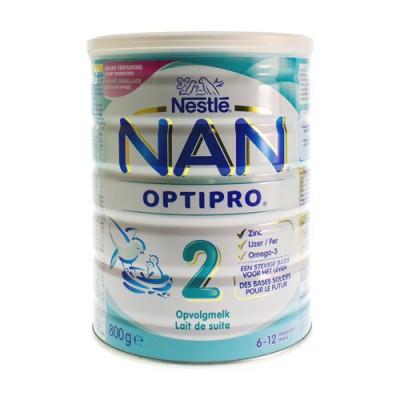 NAN PRO 2 6-12M OPVOLGMELK PDR 800G