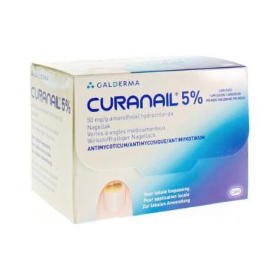 CURANAIL 5 % NAGELLAK 2,5 ML