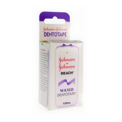 JOHNSON REACH DENTOTAPE WAXED 100M