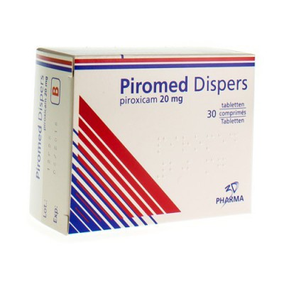 PIROMED COMP DISP.SEC 30X20MG