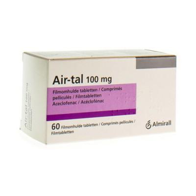 AIR-TAL ANTI INFLAMMATOIRE COMP 60X100MG
