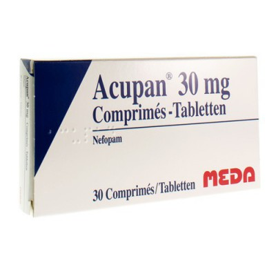ACUPAN COMP 30 X 30 MG