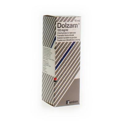 DOLZAM GUTT 1 X 10ML 100MG/ML