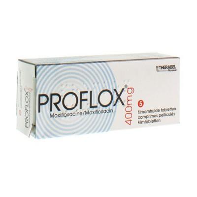PROFLOX COMP 5 X 400 MG