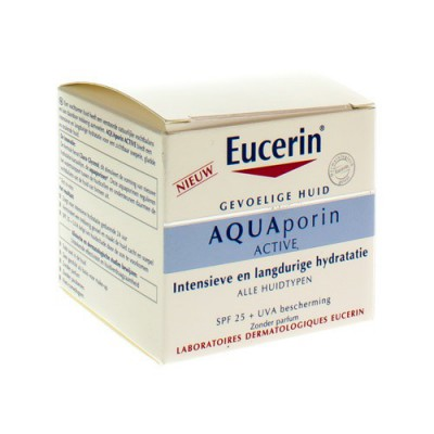 EUCERIN AQUAPORIN ACTIVE VERZ. HYDRA IP25+UVA 50ML