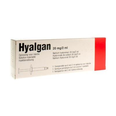 HYALGAN SER 1 X 2 ML/20 MG
