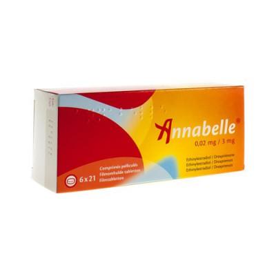 ANNABELLE 0,02 MG/3 MG COMP 6 X 21
