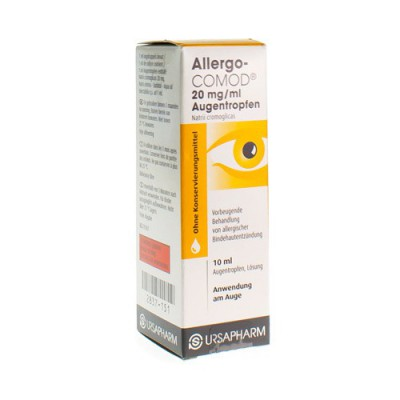 ALLERGO COMOD 2% COLLYRE 10 ML