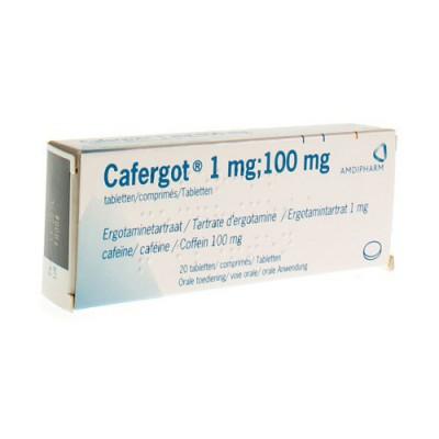 CAFERGOT COMP. 20