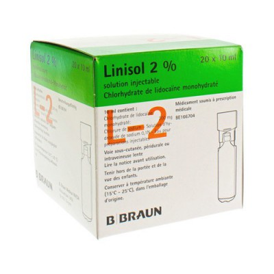 MINI PLASCO LINISOL 2% 200MG/10ML