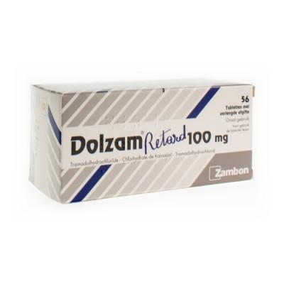 DOLZAM RETARD 100 TABL 56 X 100 MG
