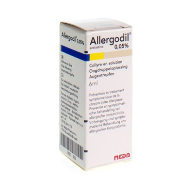 ALLERGODIL COLLYRE FL 6 ML