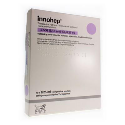 INNOHEP SER SC 10 X 2500 IU 0.25ML