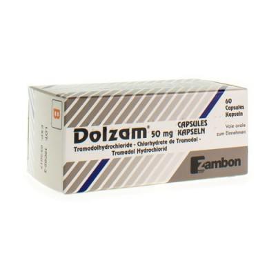 DOLZAM CAPS 60X50MG