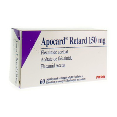 APOCARD RETARD CAPS 60 X 150 MG