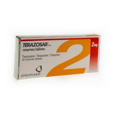 TERAZOSAB COMP 28 X 2 MG