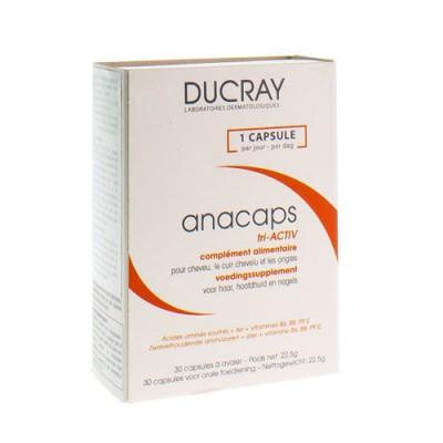 DUCRAY ANACAPS TRI-ACTIV CAPS 1X30