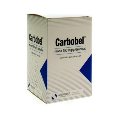 CARBOBEL MONO 150 MG/G GRANULAAT 70 G