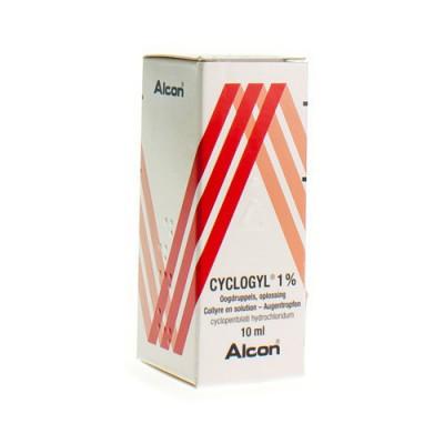 CYCLOGYL 1% COLLYRE 10 ML