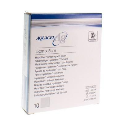 AQUACEL AG VERB HYDROFIBER STER 5X 5CM 10 403706
