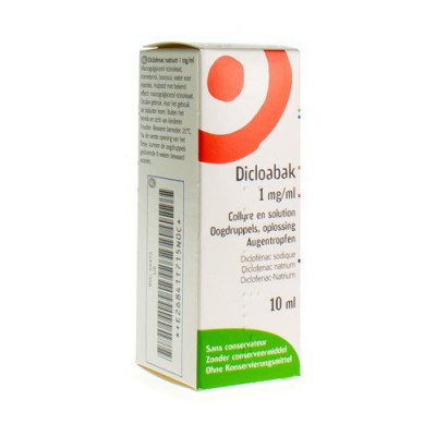 DICLOABAK 1MG/ML COLLYRE EN SOL 10ML 0,1%