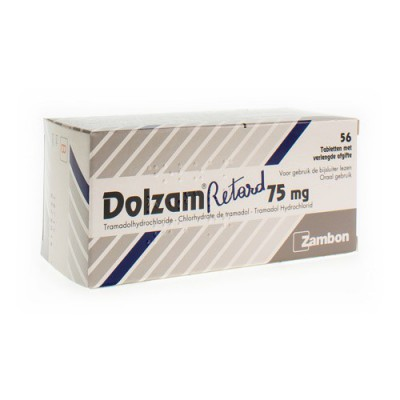 DOLZAM RETARD 75 TABL 56 X 75 MG