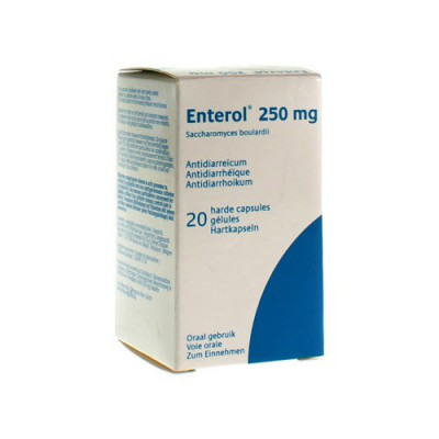 ENTEROL 250MG IMPEXECO CAPS HARDE DUR 20X250MG PIP
