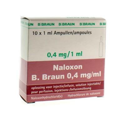 NALOXON B. BRAUN 0,4 MG/ML AMP OPL INJ 10 X 1 ML
