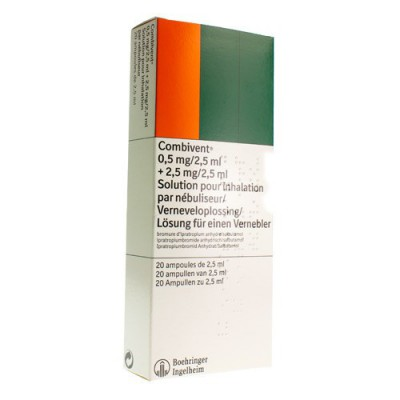 COMBIVENT VIAL MONODOSE 20X2,5ML