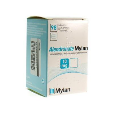 ALENDRONATE MYLAN 10 MG COMP 98 X 10 MG