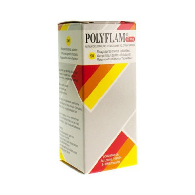 POLYFLAM TABL 50 X 50MG