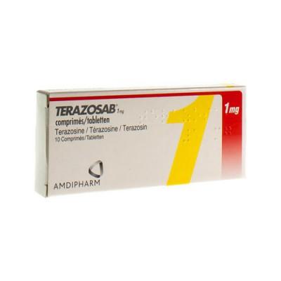TERAZOSAB COMP 10 X 1 MG