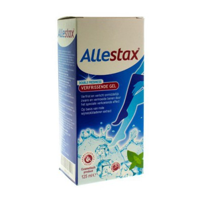ALLESTAX DOUBLE FRESHNESS GEL TUBE 125ML
